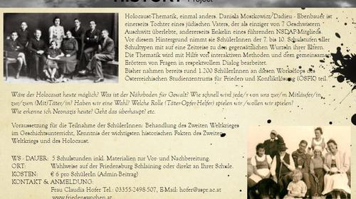 HOLOCAUST HISTORY Project