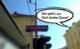 Kundgebung zur Forderung der Umbenennung der Dr. Franz Palla Gasse in Klagenfurt