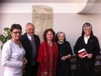 Gedenktafel für Maria Stromberger im Kloster Wernberg: Solidarität und Widerstand einer bewundernswürdigen Frau