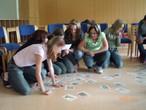 SchülerInnen beim Workshop
