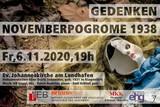 Gedenken an die Novemberpogrome 1938 in Klagenfurt