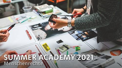 Menschenrechtsbildung – Summer Academy 2021