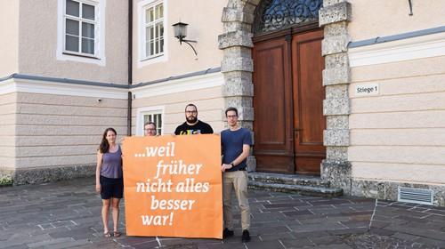 """Unterrichtsvorschlag: Als """"Adolf Hüttler"""" in Salzburg eine vielbeklatschte Rede hielt"""