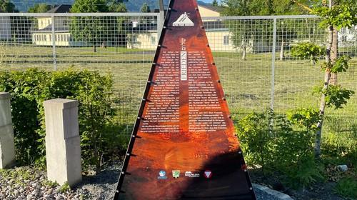Eröffnung der erweiterten Gedenkstätte in Erinnerung an das ehemalige DP-Camp Givat Avoda in Saalfelden