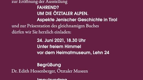 Buch Michael Haupt/Edith Hessenberger (Hg.): Aspekte jenischer Geschichte in Tirol