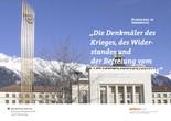 """Rundgang für Schulklassen in Innsbruck: """"Denkmäler des Krieges, des Widerstandes und der Befreiung vom Nationalsozialismus"""""""