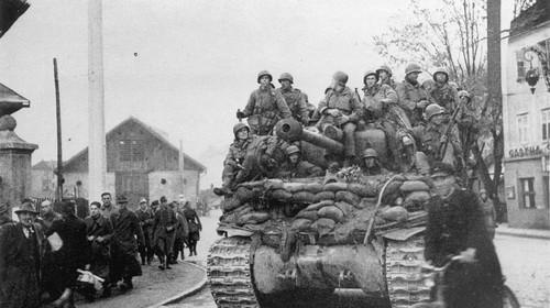 Die Befreiung Innsbrucks 1945