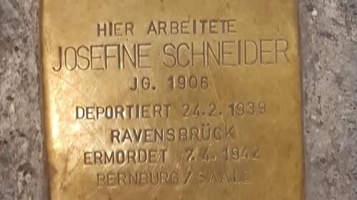 Gisela Hormayr: Josefine Schneider – eine Jüdin im kommunistischen Widerstand
