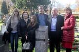 Gedenk-Stele für Richard Berger am Westfriedhof errichtet