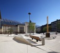 Website zum Eduard-Wallnöfer-Platz Innsbruck
