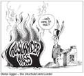 Silvio Raos Karikatur in den VN