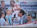 Wahlkampfplakat der FPÖ