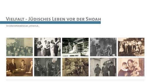 """PH Seminar """"Vielfalt – Jüdisches Leben vor der Shoah"""" (Online-Webinar)"""