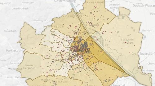 Digitale Karten der Erinnerung für den Stadtraum Wien