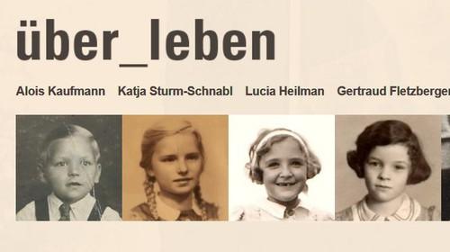 Lernwebsite über_leben – ZeitzeugInnen erzählen in Video-Interviews ihre Geschichten