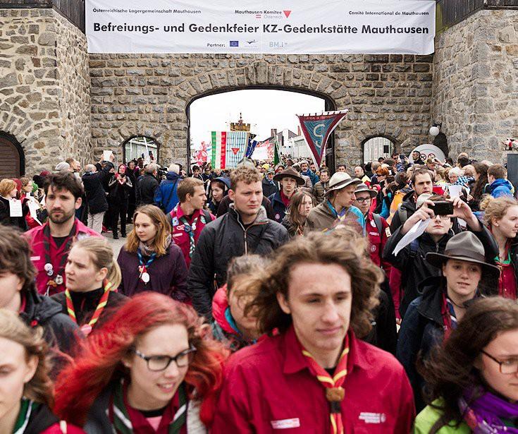 Internationale Befreiungsfeier an der KZ-Gedenkstätte Mauthausen (Foto: Mauthausen Komitee Österreich)