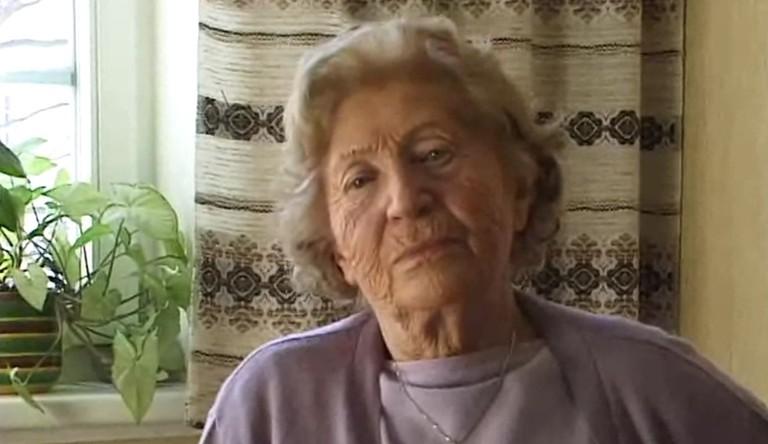Irma Trksak überlebte das KZ-Ravensbrück und das KZ-Uckermark (© österreichischen Mediathek)
