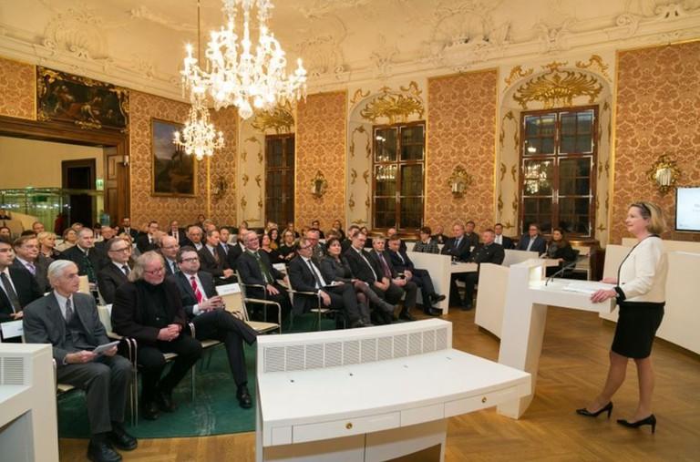Gedenkveranstaltung anlässlich des internationalen Holocaust-Gedenktages 2017 im Steiermärkischen Landtages.