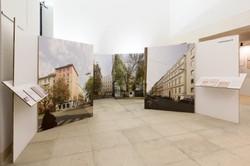Der neue Ausstellungsstandort befindet sich in unmittelbarer Nähe zum Erinnerungsort Kleine Sperlgasse 2a.