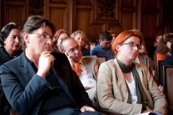Markus Barnay, Produktion, und Maria Ecker, Didaktik (Foto: Hans Hochstöger)