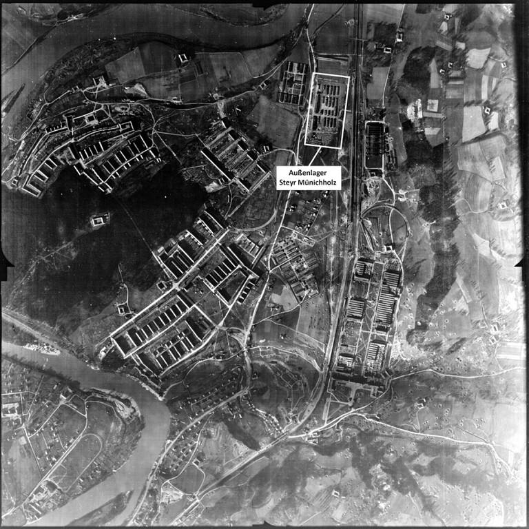 Das KZ Steyr-Münichholz bestand von 1942 bis 1945. Im August 2019 wurden die letzten Überreste entfernt. (Foto: USHMM & MKÖ)