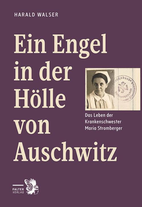 """Buchcover """"Ein Engel in der Hölle von Auschwitz"""""""