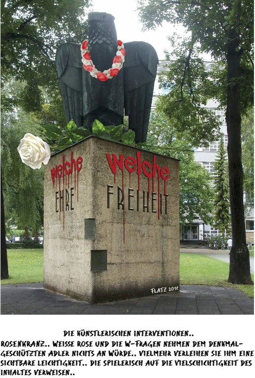 Sieger Entwurf von FLATZ, in Bertsch/Lootsma (Hg.): Ehre – Freiheit – Vaterland, S. 23.