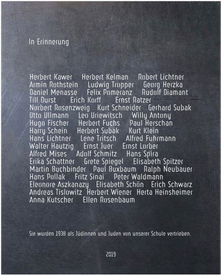 Entwurf der Gedenktafel (c) Katharina Fersterer