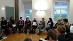 """Workshop von Maria Ecker-Angerer: Über """"Flucht und Vertreibung"""" reden"""