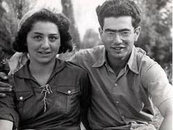 """Max Uri mit seiner Frau Frieda, Tel Aviv, 1940. © Centropa. Ihre Geschichte wird in """"Frieda suchen – Frieda finden"""" behandelt."""