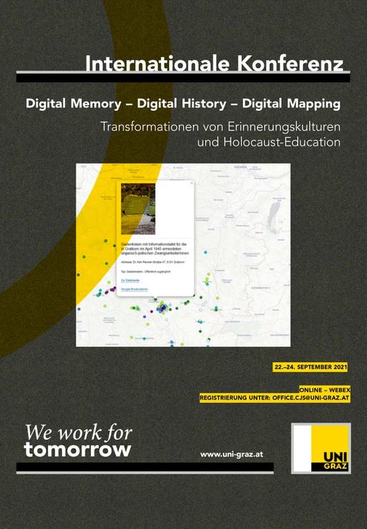 Internationale Tagung: Digital Memory – Digital History – Digital Mapping