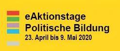 Die Aktionstage Politische Bildung finden vom 23.04 bis zum 09.05 online statt.