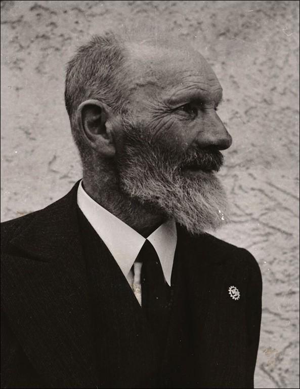Fotografische Selbstdarstellung des NS-Dichters und Antisemiten Jakob Kopp (©dietiwag.org)
