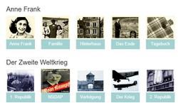 Anne Frank Web-Guide - Österreich