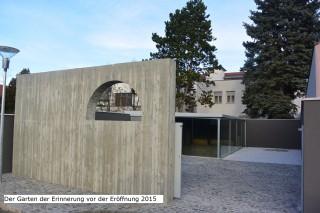 """Gedenkstätte """"Garten der Erinnerung"""""""