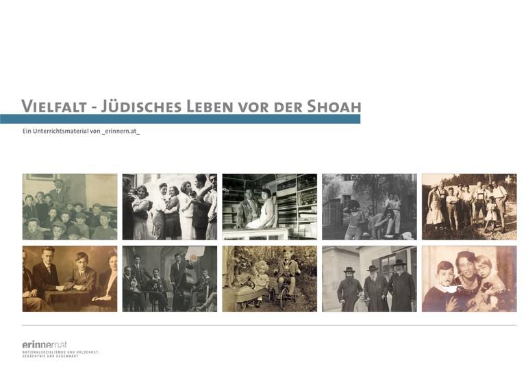 Das neue Unterrichtsmaterial von _erinnern.at_ stellt jüdisches Leben und ein lebendiges Judentum in Österreich vor 1938 vor.