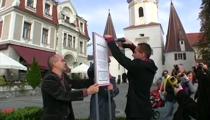 Denkmal für Deserteure in Krems