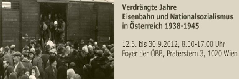 Verdrängte Jahre: Ausstellung der ÖBB