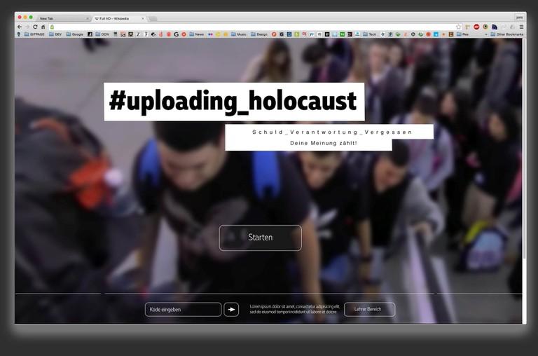 #Uploading_Holocaust - Schulklassen sind zum Mitmachen eingeladen