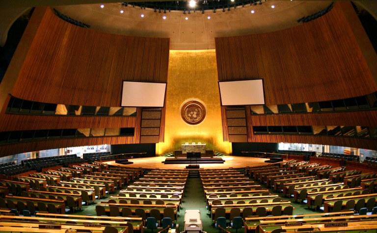 Die UN Generalversammlung hat sicht im Juni 2019 mit der Prävention von Antisemitismus befasst.  (Foto:  Patrick Gruban CC BY-SA 2.0)