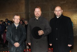 vlnr. Univ. Prof. Dr. Bob Martens, BM Bernhard Müller, Dr. Werner Sulzgruber