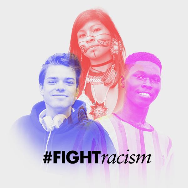Mit dem Hashtag FightRacism ruft die UN dazu auf, sich gegen Intoleranz und Rassismus zu verbinden.