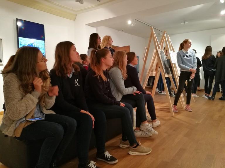 Schülerinnen der Sacré Coeur Riedenburg