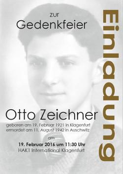 Otto Zeichner - Gedenkfeier