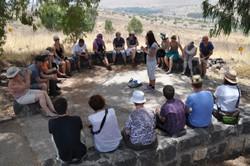Auf den Golan-Höhen