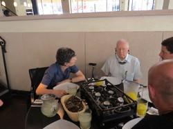 Lunch im österreichisch-israelischen Club in Tel Aviv
