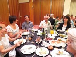 Treffen mit den ehemaligen ÖsterreicherInnen im Hotel Rimonim (Jerusalem)