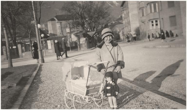 Dorli Pasch 1929. Sie musste aus Innsbruck fliehen (Mike Neale).