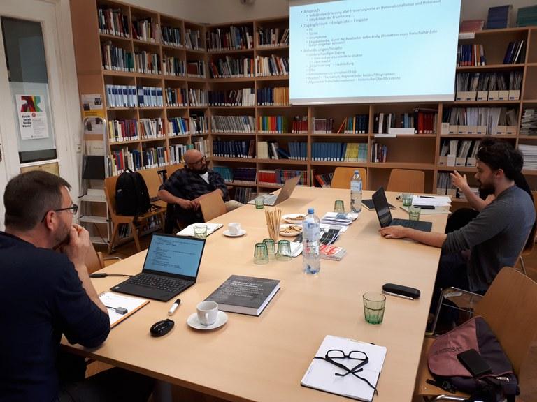 Projekttreffen am Centrum für Jüdische Studien Graz