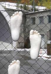 Füße Montage